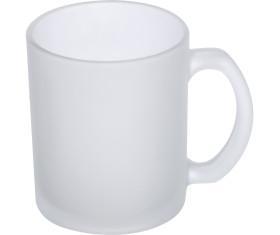 Kaffeetasse weiß gefrostet, 300 ml